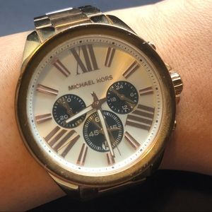 Michael Kors MK5712 Rose Gold tone watch